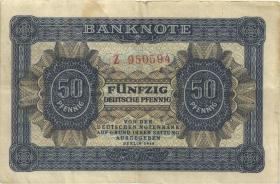 R.339a: 50 Pfennig 1948  6-stellig Serie Z (3)