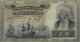 Niederlande / Netherlands P.055 20 Gulden 1941 (3)
