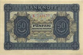 R.339a: 50 Pfennig 1948 6-stellig Serie N  (1/1-)