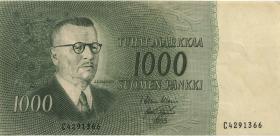 Finnland / Finland P.093 1000 Markkaa 1955 (3)