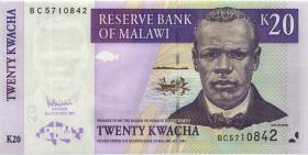 Malawi P.52c 20 Kwacha 2007 (1)