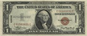 Hawai P.36a 1 Dollar 1935A (2)