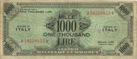 Italien / Italy P.M23a 1000 Lire 1943 A (3)