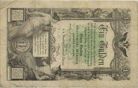 Österreich / Austria P.A150 1 Gulden 1866 (4)