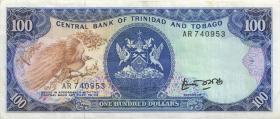 Trinidad & Tobago P.40a 100 Dollars (1985) (3)