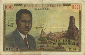 Kamerun / Cameroun P.10 100 Francs (1962) (3)