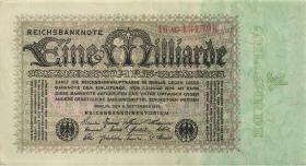 R.111b: 1 Milliarde Mark 1923 Privatdruck (2)