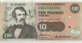 Nordirland / Northern Ireland, Clydesdale Bank P.219c 10 Pounds 1996 (1)