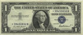 USA / United States P.419r 1 Dollar 1957 * Ersatznote / replacement (3)
