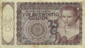 Niederlande / Netherlands P.060 25 Gulden 1944 (3-)