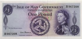 Insel Man / Isle of Man P.25b 1 Pound (1961) (1) Serie B