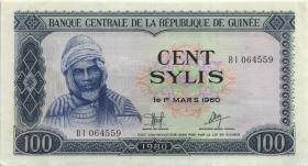 Guinea P.26 100 Sylis 1980 (2)