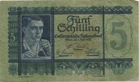 Österreich / Austria P.093 5 Schilling 1927 (3)