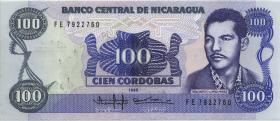 Nicaragua P.159F 100.000 Cordobas (1989) (1)