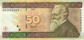 Litauen / Lithuania P.67 50 Litu 2003 (1)