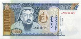 Mongolei / Mongolia P.59a 1000 Tugrik (1993) (1)