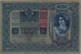 Österreich / Austria P.059 1000 Kronen 1902 (1919) (3)