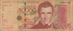 Venezuela P.087a 50.000 Bolivares 2005 (3)
