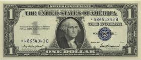 USA / United States P.419r 1 Dollar 1957 * Ersatznote / replacement (1)