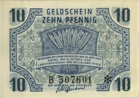 R.212: Rheinland-Pfalz 10 Pfennig 1947 B Rheinland-Pfalz (1)