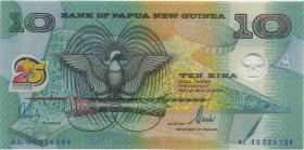 Papua-Neuguinea / Papua New Guinea P.23 10 Kina (2000) Polymer (1)