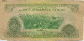 Südvietnam / Viet Nam South P.R7 10 Dong (1963) (2)