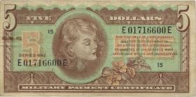 USA / United States P.M96 5 Dollars (1970) (4)