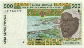 West-Afr.Staaten/West African States P.710Kd 500 Francs 1994 (1)