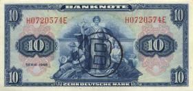 R.239a 10 DM 1948 B-Stempel (2+)