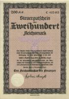 Steuergutschein 200 Reichsmark 1937 (1945) (1)