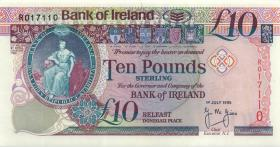 Nordirland / Northern Ireland, Bank of Ireland P.075a 10 Pounds 1995 (1)