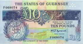 Guernsey P.54 10 Pounds (1991-95) (1)