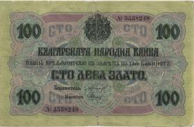 Bulgarien / Bulgaria P.020a 100 Leva Zlato (1916) (4)