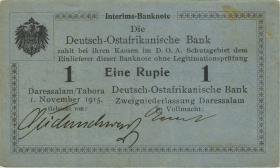 R.914b Deutsch-Ostafrika 1 Rupie 1.11.1915 A (1-)