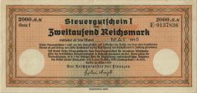 R.720f: Steuergutschein 2000 Reichsmark 1939 (Mai 1940) (2)