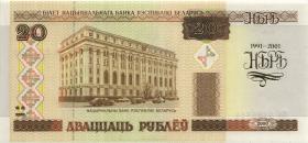 Weißrussland / Belarus P.33 20 Rubel 2001 (1)