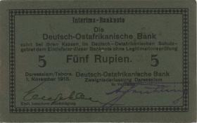 R.921f: Deutsch-Ostafrika 5 Rupien 1915 E (2)