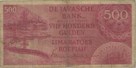 Ndl. Indien / Netherlands Indies P.095 500 Gulden 1946 (4)
