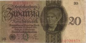 R.169: 20 Reichsmark 1924 Q/U (3)