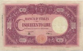Italien / Italy P.070b 500 Lire 7.10.1944 (3/2)