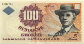 Dänemark / Denmark P.56a 100 Kroner 1999 (1)