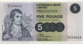 Schottland / Scotland P.205a 5 Pounds 1971 (1)