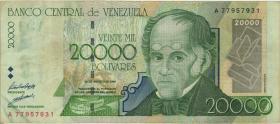 Venezuela P.082 20.000 Bolivares 1998 (3)