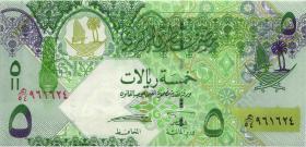 Qatar P.29a 5 Riyals (2008) (1)