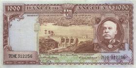 Angola P.091 1000 Escudos 1956 (3+)