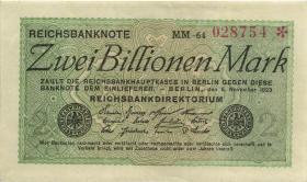 R.132a: 2 Billionen Mark 1923 (2)