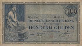 Niederlande / Netherlands P.039d 100 Gulden 1928 (3)