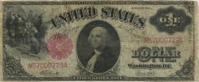 USA / United States P.187 1 Dollars 1917 United States Note (4)