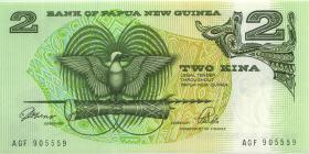 Papua-Neuguinea / Papua New Guinea P.05c 2 Kina (1981) (1)