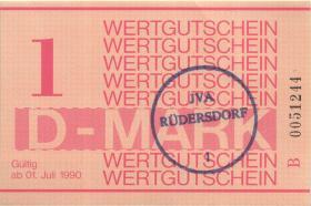 MDI-38 DDR Gefängnisgeld 1 D-Mark (1990) (1)